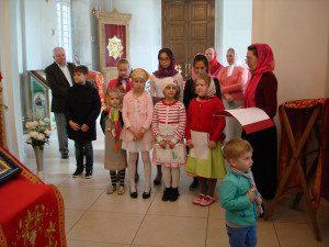 Поздравление учеников Воскресной школы с Пасхой 2016