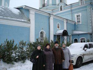 Игумен Паисий( Маркин  )во Владимирском храме Мытищи 4 января 2017