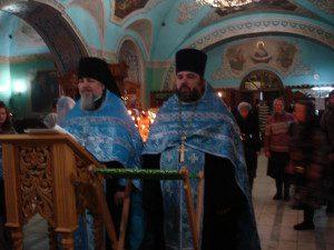 Молебен о.Паисия во Владимирском храме г.Мытищи