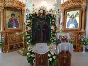 почитаемая икона Петра и Павла