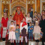 о.Паисий с учениками вокресной школы
