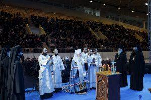 собрание духовенства-литургия